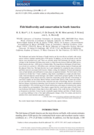 Fish biodiversity and conservation in South America